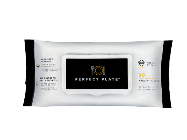 Perfect Plate Food Safe Cleaning Wipes