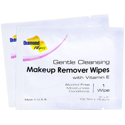 Diamond Wipes Makeup Remover - 500 Count