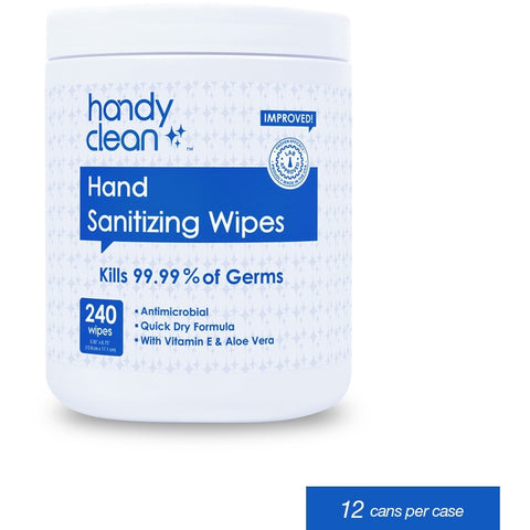 Alcohol Hand Sanitizing Wipes