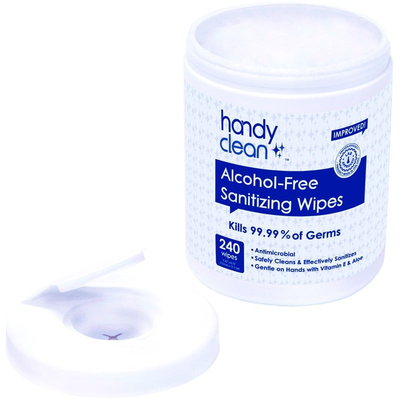 Alcohol-Free Sanitizing Wipes