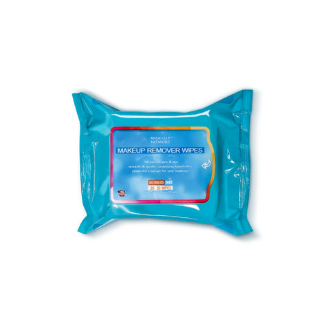 Makeup No More- Makeup Remover Wipes 30ct pouch- Twin pack