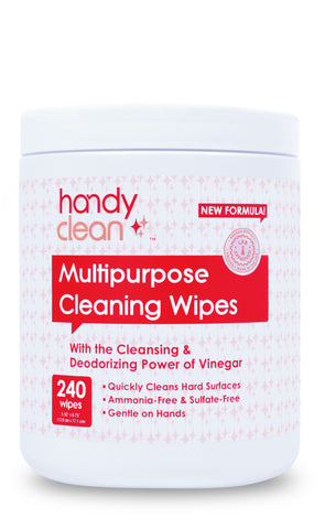 Handyclean™ Multi Purpose Cleaning Wipes - 240 Wipes