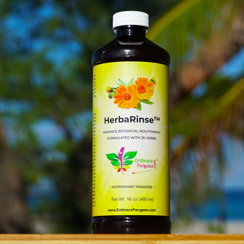 HerbaRinse™ Botanical Mouthwash Formulated w/ 25 Herbs (16 oz)