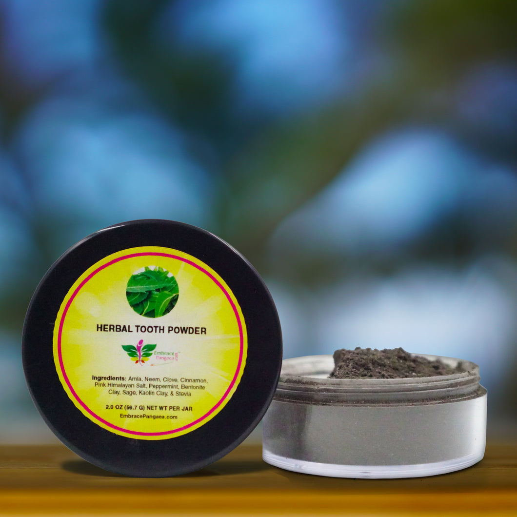 Herbal Tooth Powder w/ 10 Remineralizing & Detoxifying Herbs