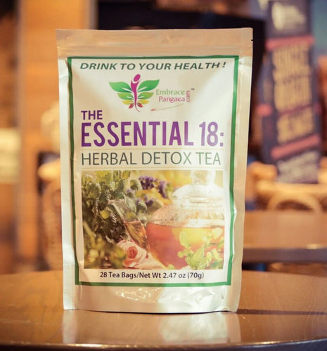 WHOLESALE - The Essential 18™: Non-Laxative Herbal Detox Tea to Support Colon Health (10 BAGS)