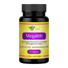 Megalith™: Antioxidant Mushroom Complex with Chaga & Lion's Mane