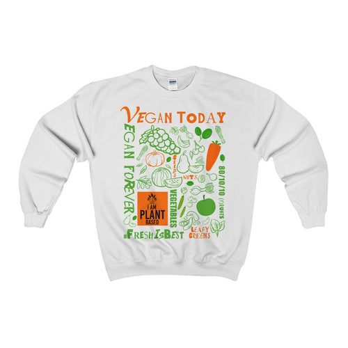 Vegan Today - Vegan Forever Cozy Sweatshirt