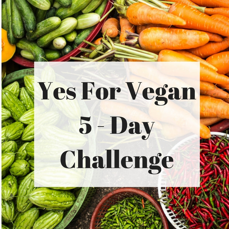 Yes For Vegan 5 Day Challenge