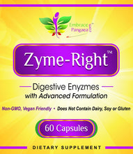 Zyme-Right™ - All Natural Digestive Enzyme 100% Non-GMO & Vegan Friendly Advanced Formulation