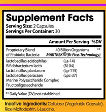 So-Biotic™ - All Natural Probiotic with 40 Billion CFUs [30 Day Supply]