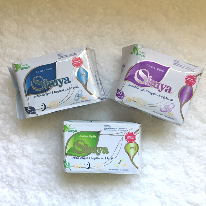 Lunar Combo Pack - 100% Organic Cotton Regular & Super Pads with 30 Liners