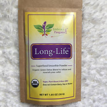 Long-Life™ Superfood Smoothie Powder - Organic Green Detox Blend To Infuse & Nourish Your Cells!
