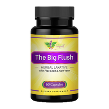 The Big Flush™ Herbal Laxative w/ Flaxseed & Aloe Vera