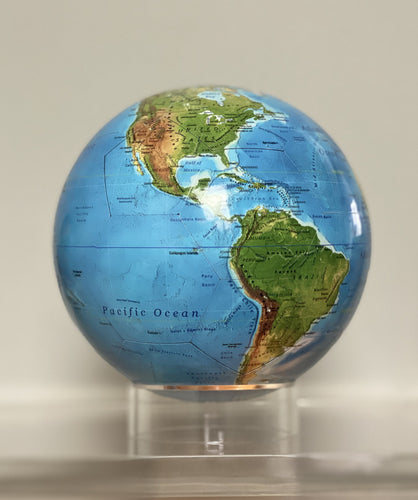 Classic Relief Map Globe - 7.3