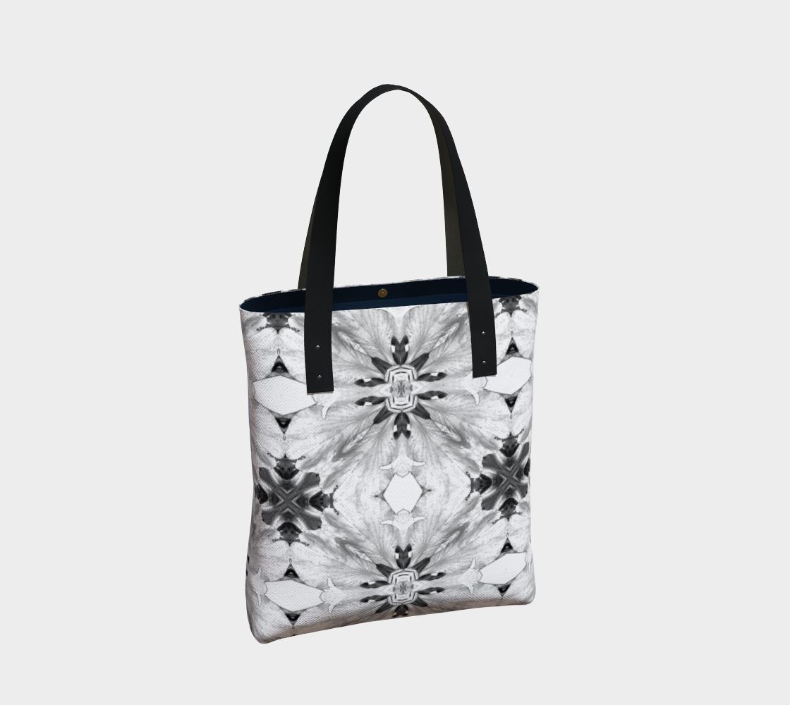 Floral Botanical Print Nature Theme Tote Bag