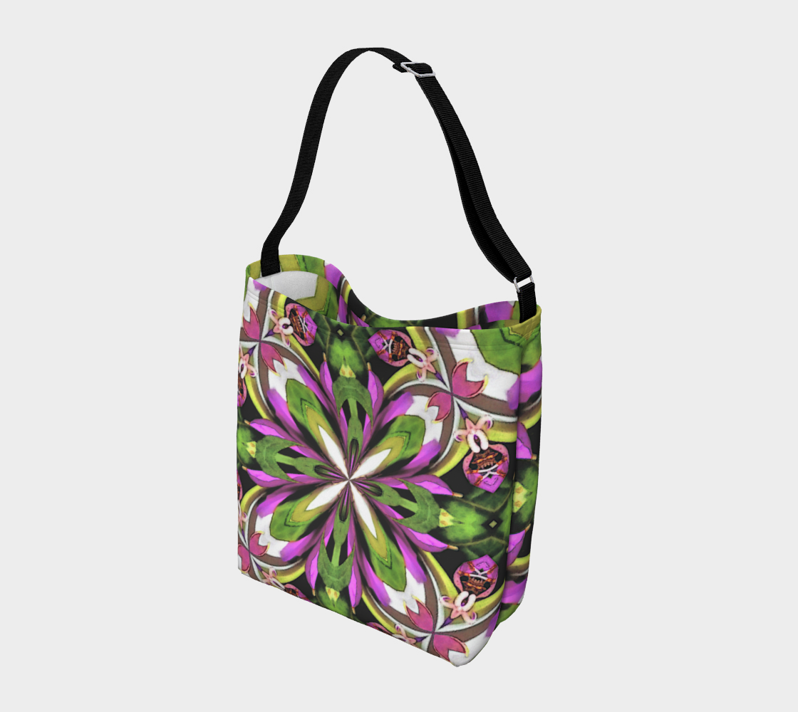 Stretch Fabric Foldable Tote Bag