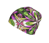 Brilliant Colored Summer Print Floral Beanie Hat