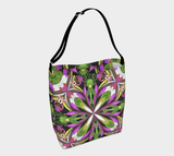 Fancy Floral Stretchy Tote Bag Purse Alternative for Everyday