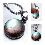 Color Changing Moon Glow Necklace Celestial Jewelry for Him or Her