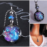 Celestial Starry Night Sky Necklace