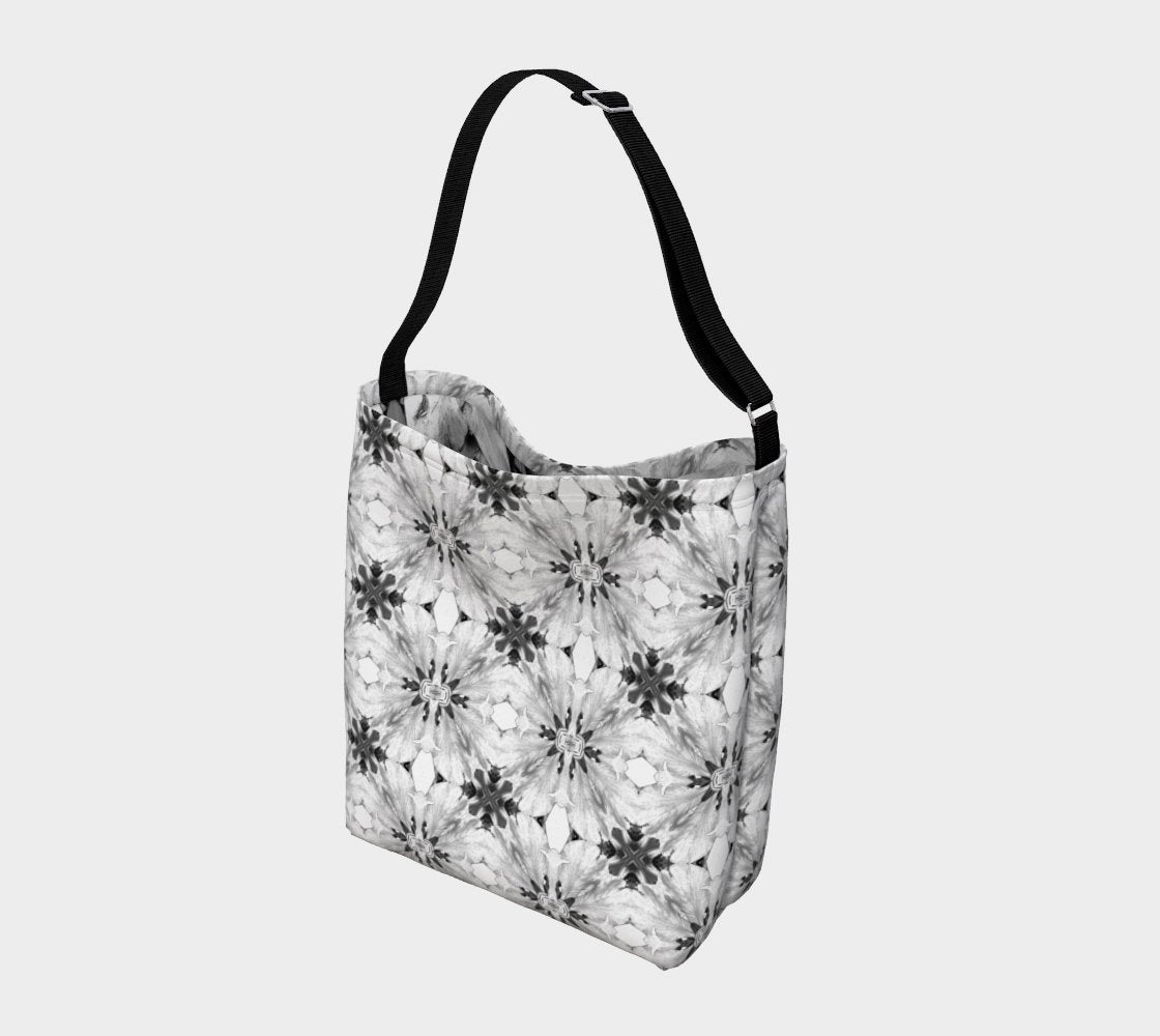 Reusable Grocery Tote Floral Print