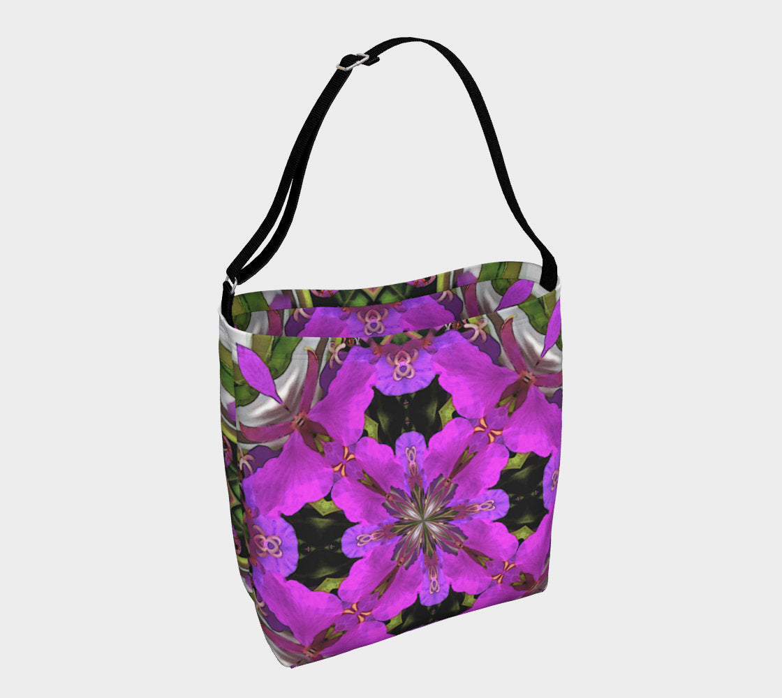 Bright Wildflower Tote Bag