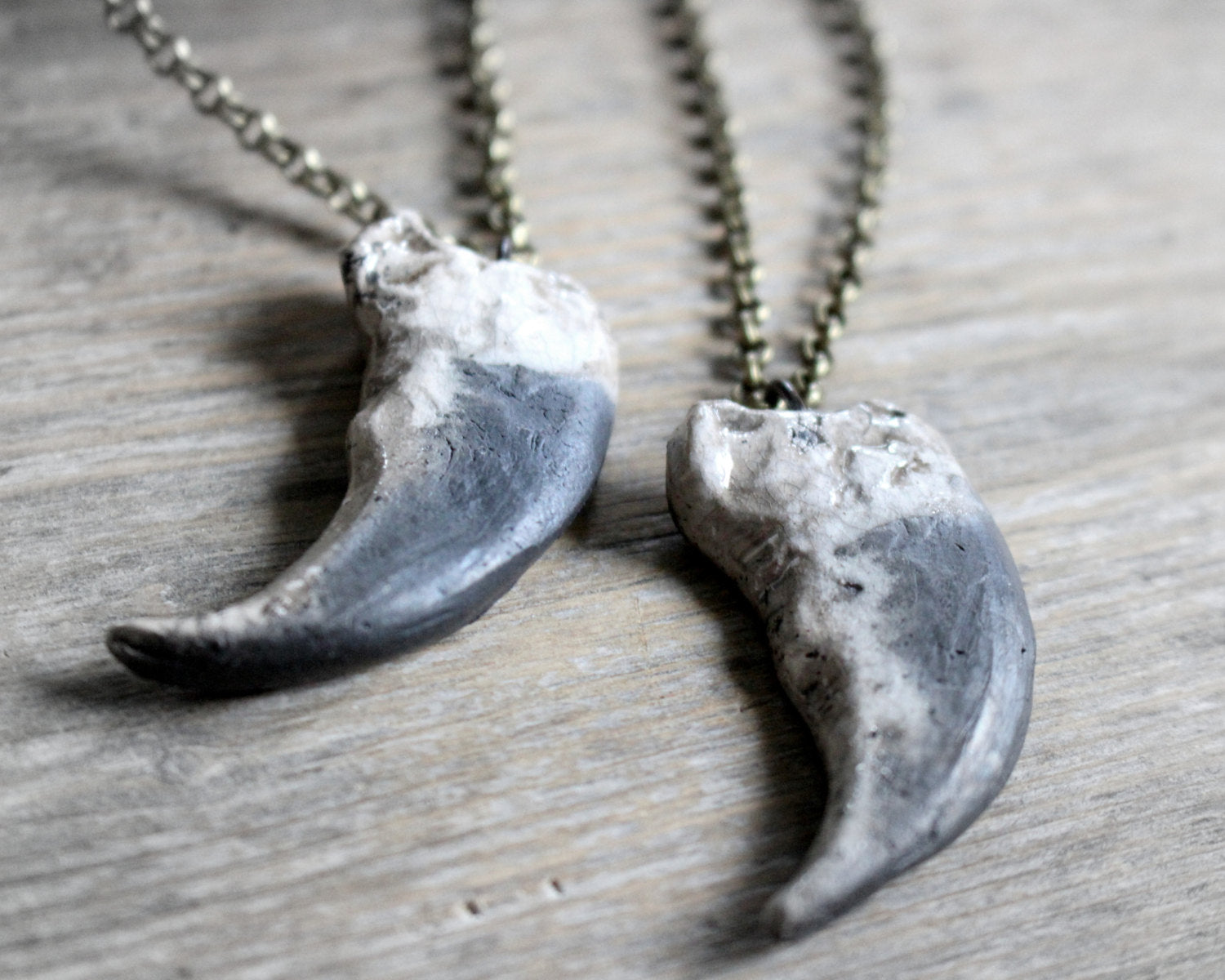 Alaska Grizzly bear claw necklace