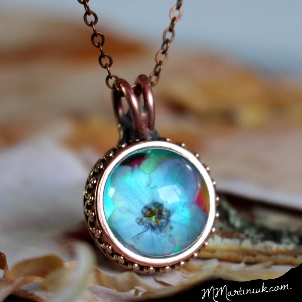 Forget Me Not Necklace Best Friend Gift
