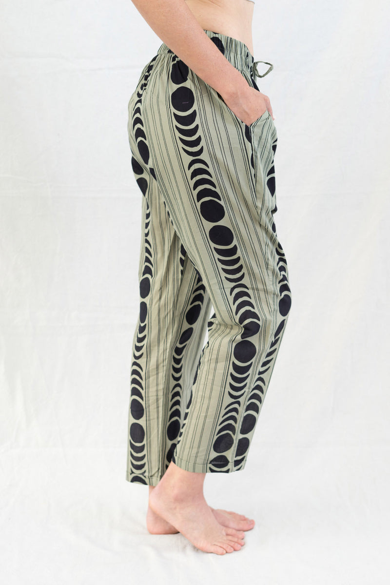 * SALE * moon phases trousers