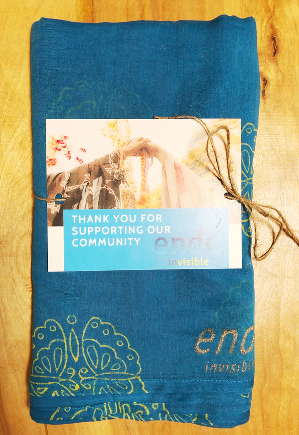 Endo Invisible Fundraiser Scarf