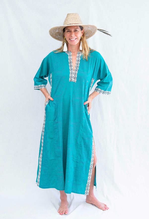 *SALE* snakeprint caftan