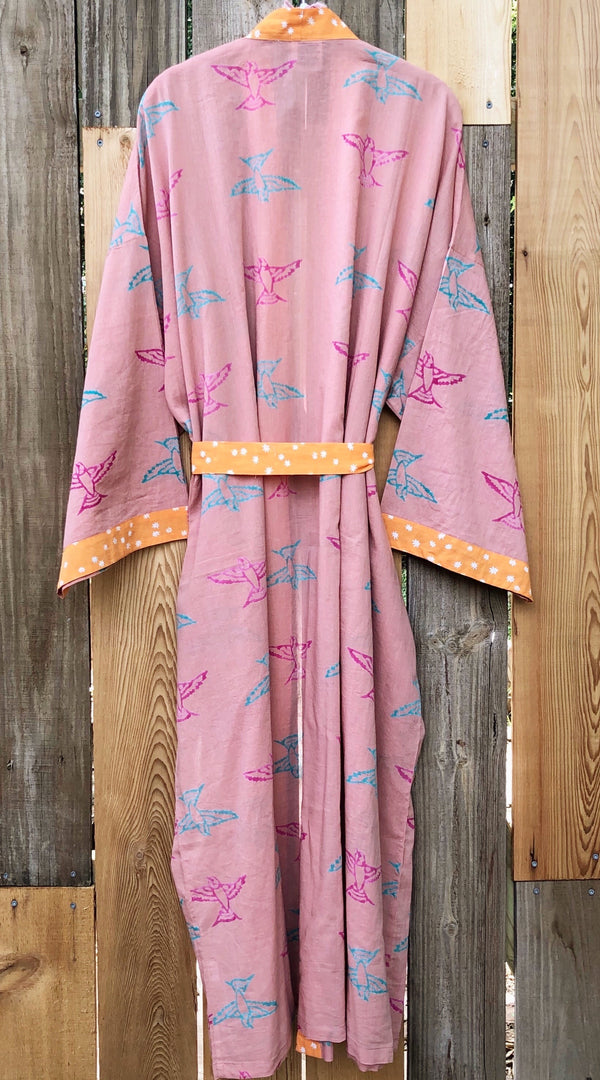 * new from India * barn swallows robe