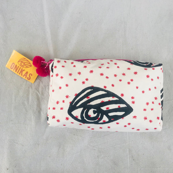 signature eye cosmetic bag