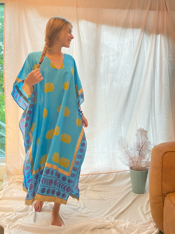 * SALE * the liz lotus caftan