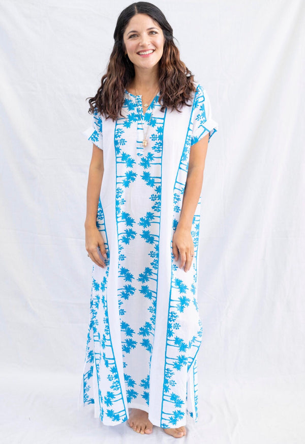 * NEW * magical landscape caftan