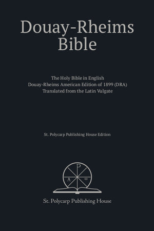 Douay-Rheims Bible (Hardcover)