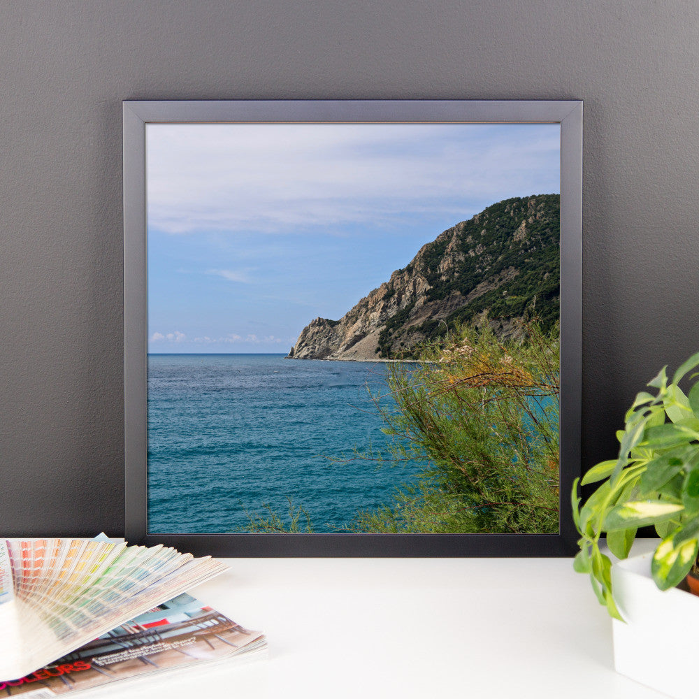 Framed photo paper poster - Italian Coast at Cinque Terre