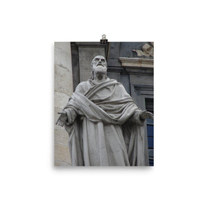 Photo paper poster - Statue of St. Polycarp of Smyrna