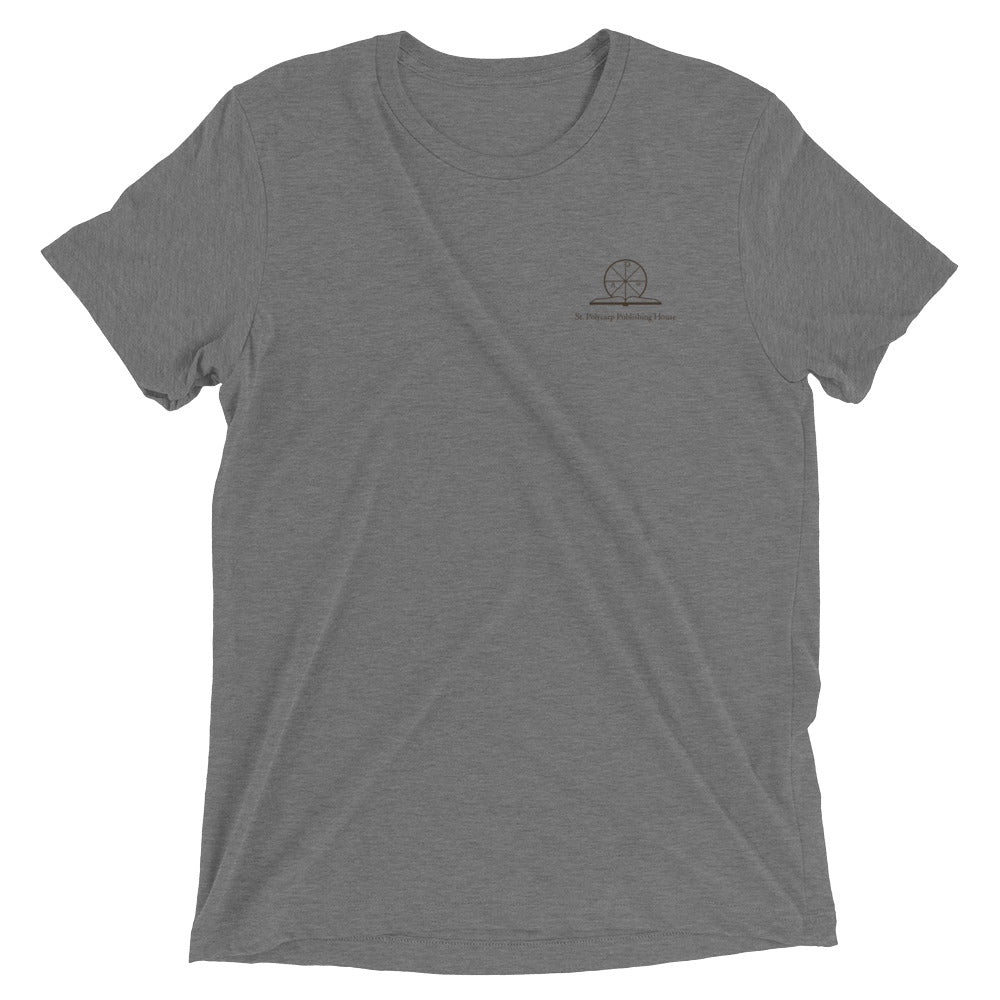 Short sleeve t-shirt - With St. Polycarp Publishing House Logo
