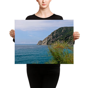 Canvas - Italian Coast at Cinque Terre
