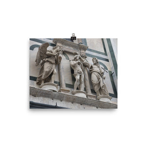 Photo paper poster - Baptistery of Saint John (Florence, Italy)