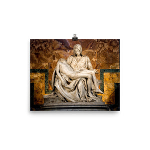 Photo paper poster - Michelangelo's Pieta