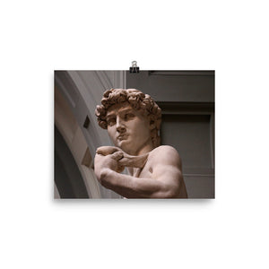 Photo paper poster - Michelangelo's David