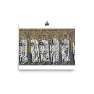 Photo paper poster - Procession of the Holy Martyrs