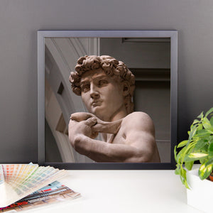 Framed photo paper poster - Michelangelo's David