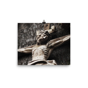 Photo paper poster - Christ Crucified
