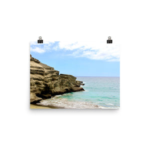 Photo paper poster - Hawaiian Beach