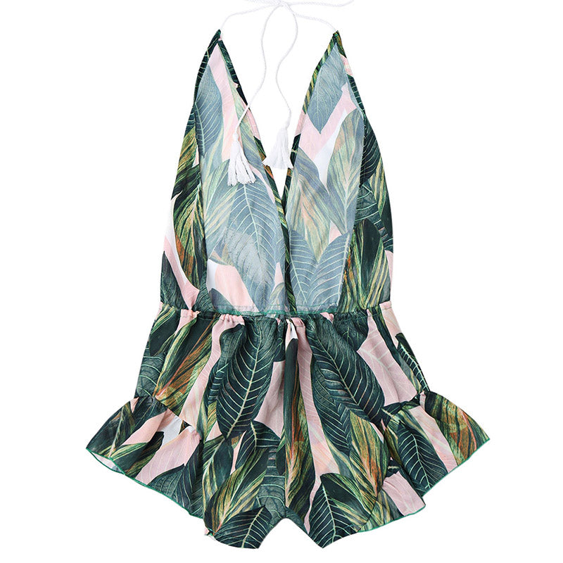 Green Leaves Romper - Avalon88