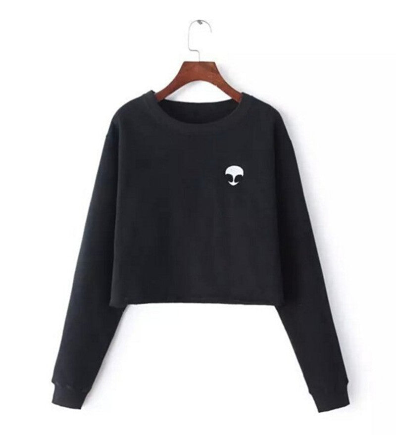 Alien Crop Sweater - Avalon88