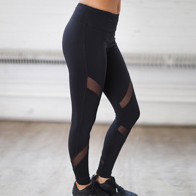Kim Mesh Panel Leggings - Avalon88